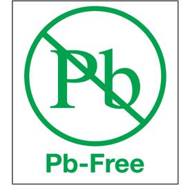 Pb Free Labels