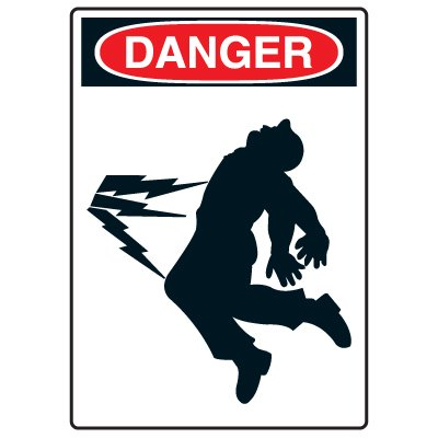 Pictogram Signs - High Voltage