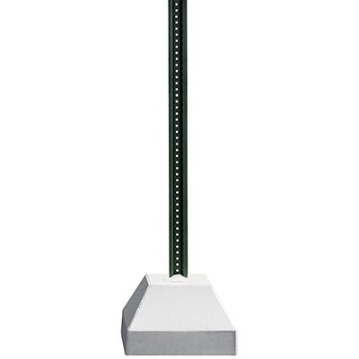 250Lb Concrete Base With 6Ft U-Channel Post