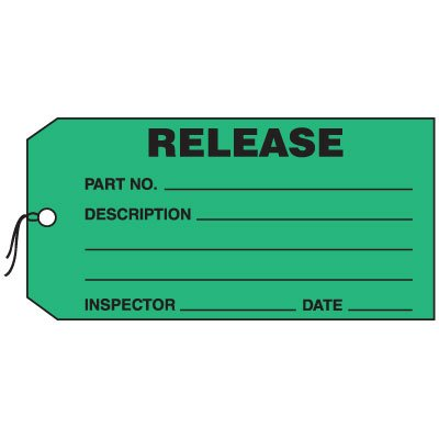 Production Control Tags - Release