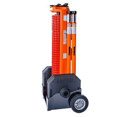 RapidRoll Wheeled Portable Barrier - Wheel