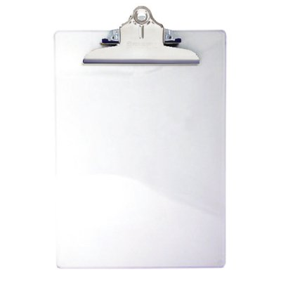 Saunders Recycled Clear Plastic Clipboard 21803
