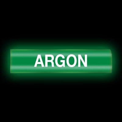 Reflective Opti-Code™ Self-Adhesive Pipe Markers - Argon