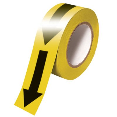 INCOM Reflective Arrow Warning Tape No Part