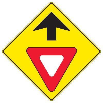Regulatory Warning Signs – Yield Sign Ahead
