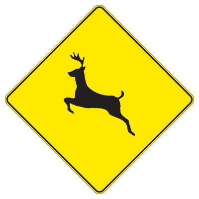 Regulatory Warning Signs – Deer Crossing