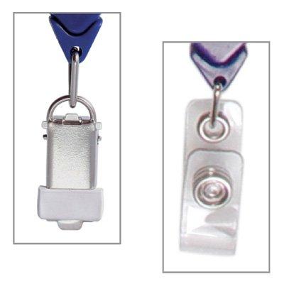Retractable Badge Holder, Round
