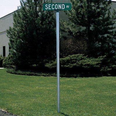 Round Sign Posts