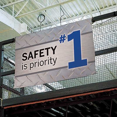 Safety Slogan Banners