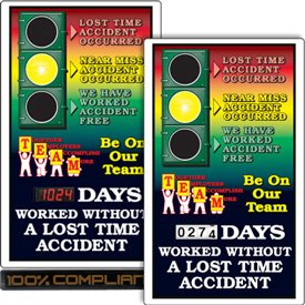 Safety Signal Scoreboards - Be On Our Team