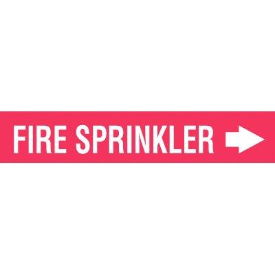 Setmark® Fire Protection Markers -Fire Sprinkler