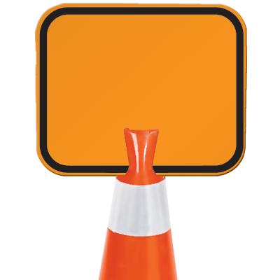 Arrow Sign Snap-On Cone Sign - Blank B202