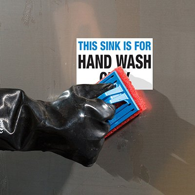 ToughWash® Labels - Hand Wash Only Sink
