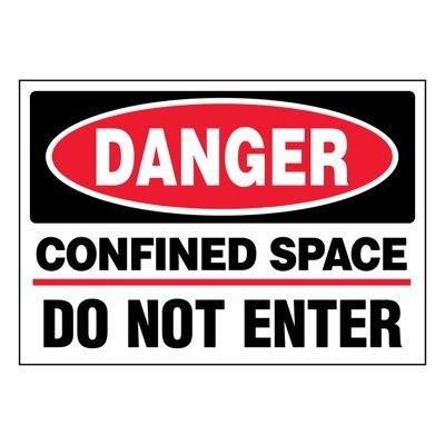 Ultra-Stick Signs - Danger Do Not Enter