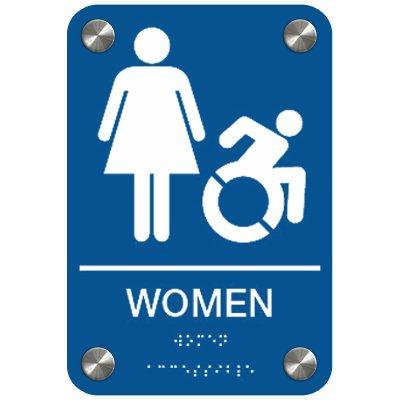 Women (Dynamic Accessibility) - Premium ADA Restroom Signs