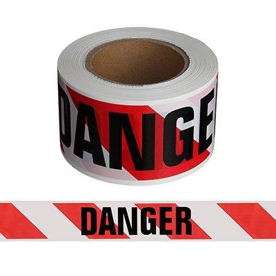 Economy Printed Barricade Tape - Danger