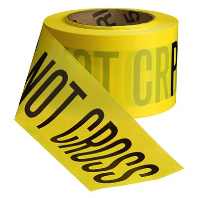 Economy Printed Barricade Tape - Police Line