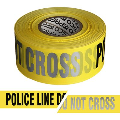 Presco Day Or Night Barricade Tape RB3103Y811