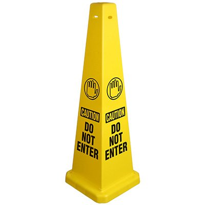 Safety Traffic Cones - Caution Do Not Enter