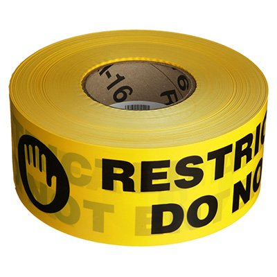 Barricade Tape - Restricted Area Do Not Enter