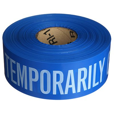 Barricade Tape - Temporarily Closed