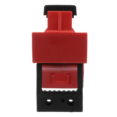120/277V Red Circuit Breaker Lockout by Brady (65396)