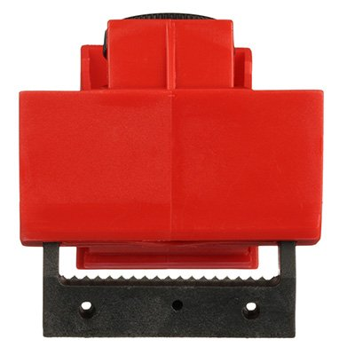 480/600V Red Circuit Breaker Lockout by Brady (65397)