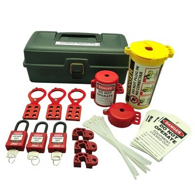 Zing® RecycLockout Lockout Tagout Kit with Deluxe Tool Box