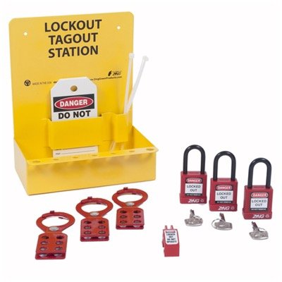 Zing® RecycLockout Mini Lockout Station, Stocked