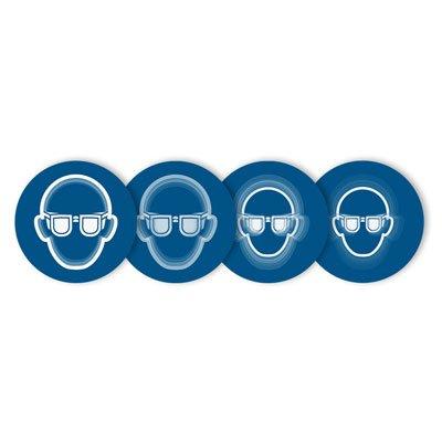 Seton Motion® Mandatory Sign Eye Protection Required