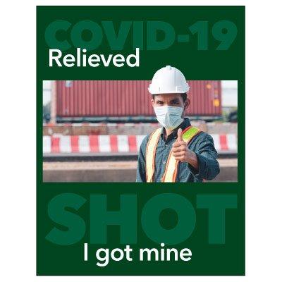 I Got My COVID-19 Shot Poster