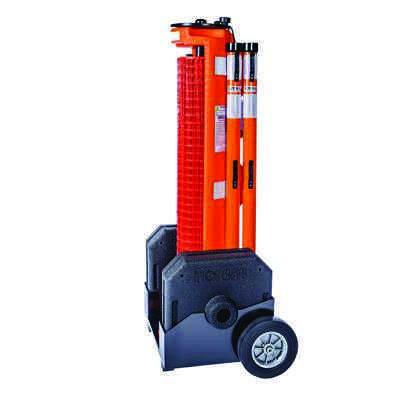 RapidRoll Wheeled Portable Barrier - Main Base