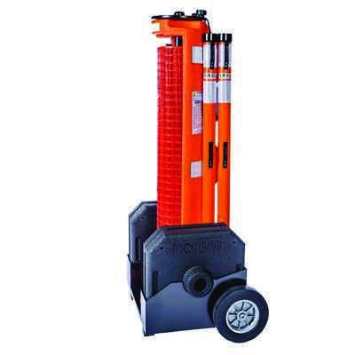 RapidRoll Wheeled Portable Barrier - Wheel