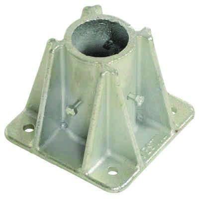 Cast Steel Single Socket With Toeboard Access