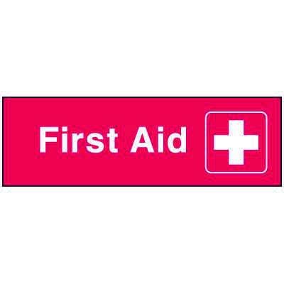 Emergency Corridor Signs - First Aid