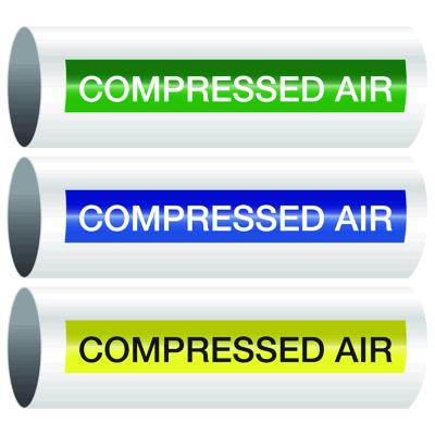 Opti-Code™ Self-Adhesive Pipe Markers - Compressed Air