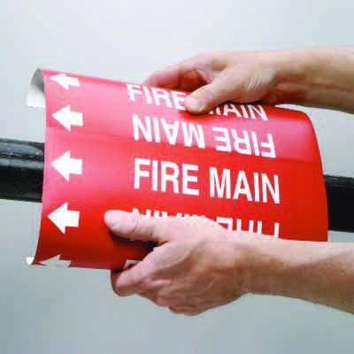 Setmark® Snap-Around Fire Protection Markers - Sprinkler