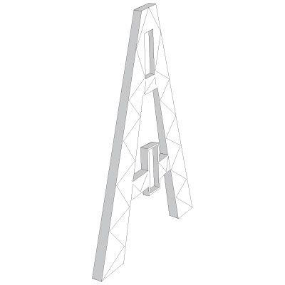A-Frame Barricade TrafFix Devices 44040-IM