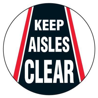 Anti-Slip Floor Markers - Keep Aisles Clear