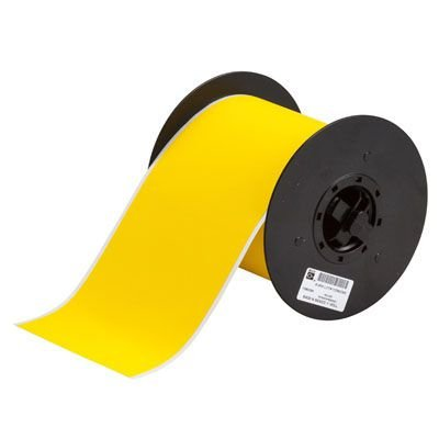 Brady B30C-4000-855-YL B30 Series Label - Yellow