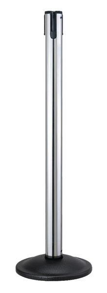 Beltrac® Contempo Retractable Belt Chrome Stanchion Post