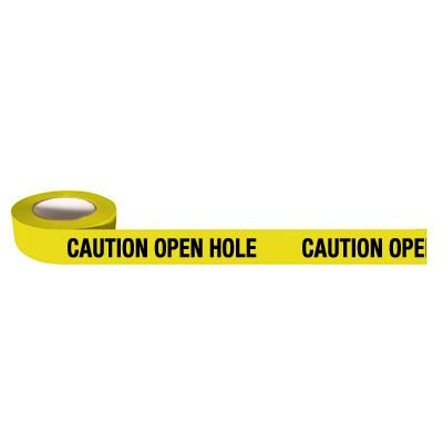 Barricade Tapes-Caution Open Hole