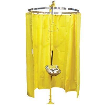 Bradley Safety Shower Eyewash Privacy Curtain S19-330
