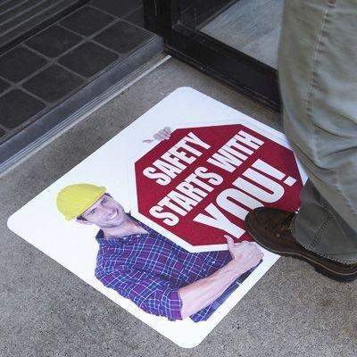 Custom Pavement Marking Signs