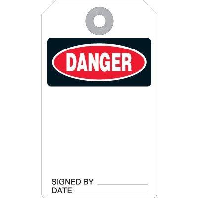 Danger Accident Prevention Tag