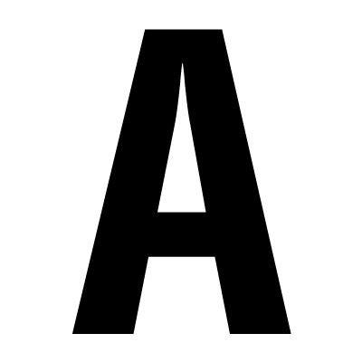 Die-Cut Non-Reflective Letters