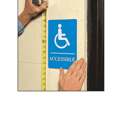 Accessible - Economy Braille Signs