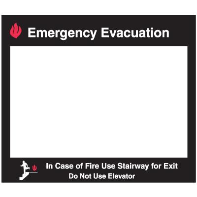 Emergency Evacuation Insert Frame