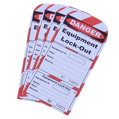 Equipment Lock-Out - IRONguard Lock-Out Guard Tags