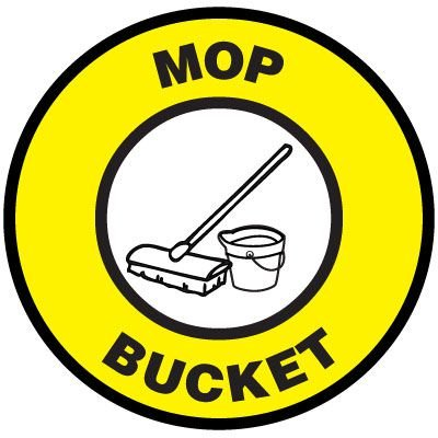 Floor Signs - Mop Bucket